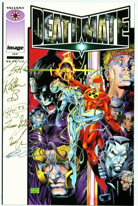 Deathmate Prologue: : White Cover Variant (Signed)