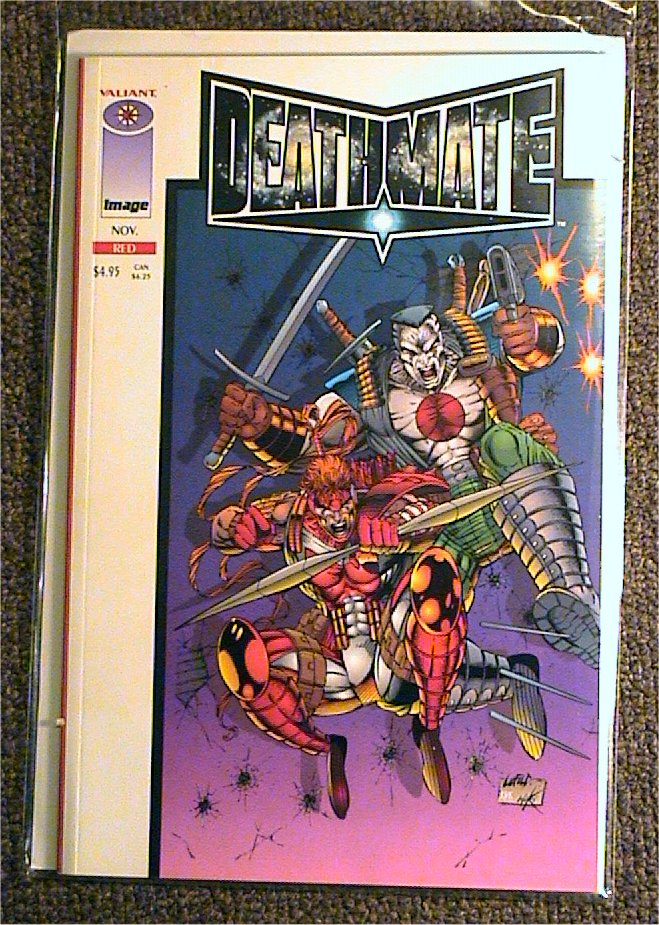 Deathmate Red: White Cover Variant